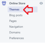 shopify themes editor