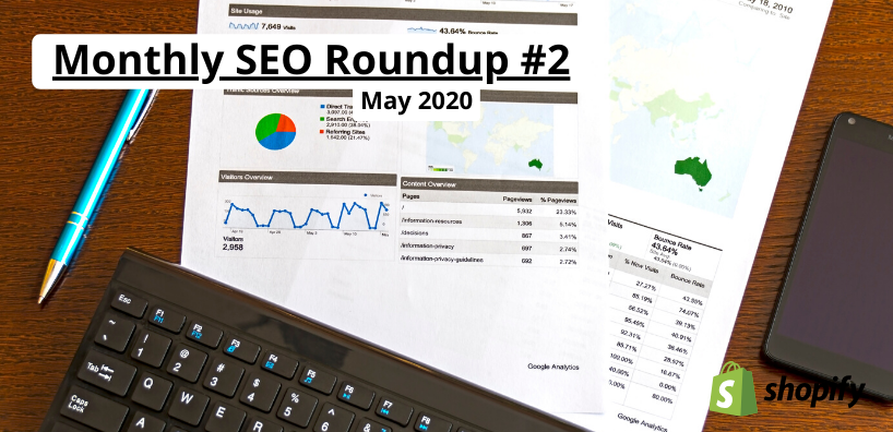 monthly seo roundup may 2020
