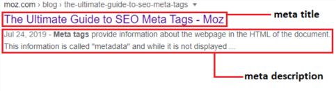 meta tags introduction